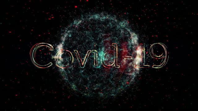 covid-19 title animation - disease vector stock videos & royalty-free footage
