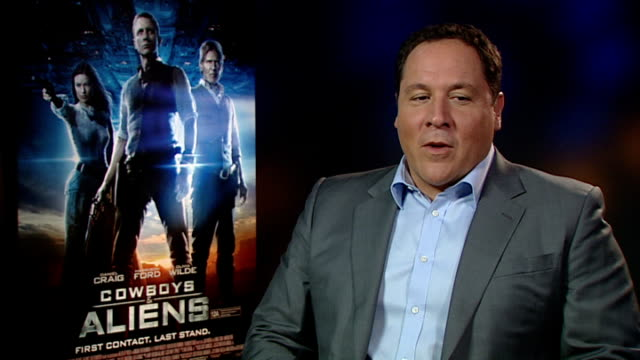 cast interviews harrison ford interview sot bought horses used in film on next indiana jones film don't know if its going to happen yet jon favreau... - cowboys & aliens stock videos and b-roll footage