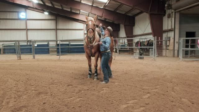 cowgirl practice - rodeo stock videos & royalty-free footage
