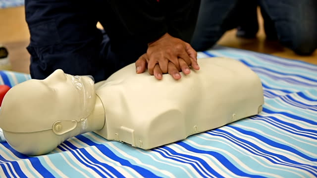 cpr training class - first aid stock videos & royalty-free footage