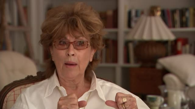 crackdown on adverts that encourage gender stereotypes int nanette newman interview sot - gender stereotypes stock videos & royalty-free footage