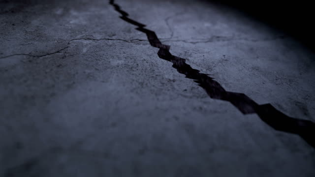 cracks on the ground - cement stock videos & royalty-free footage