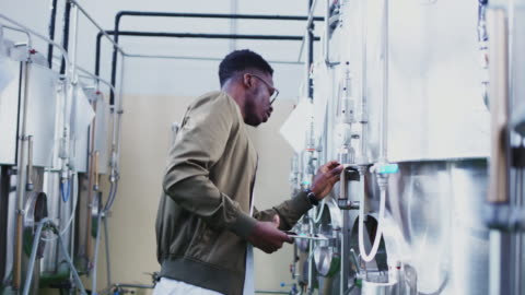 craft brewery - quality control stock videos & royalty-free footage