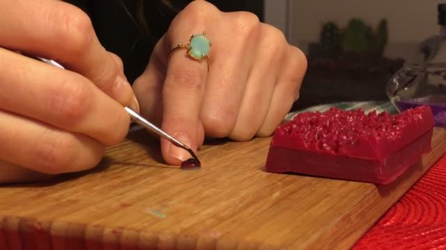 Kunsthandwerk Schmuckherstellung Wachs-Modell