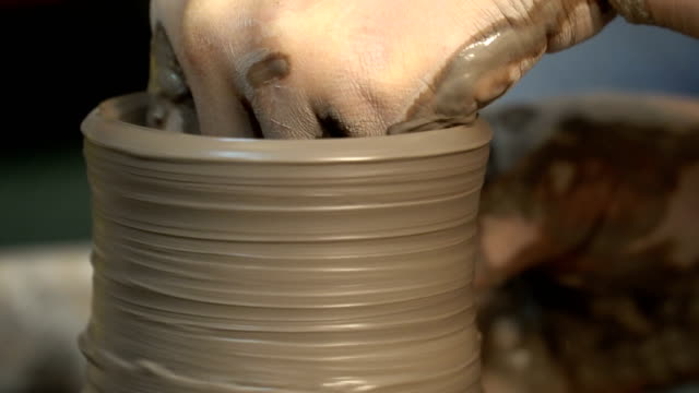craft - ceramica video stock e b–roll