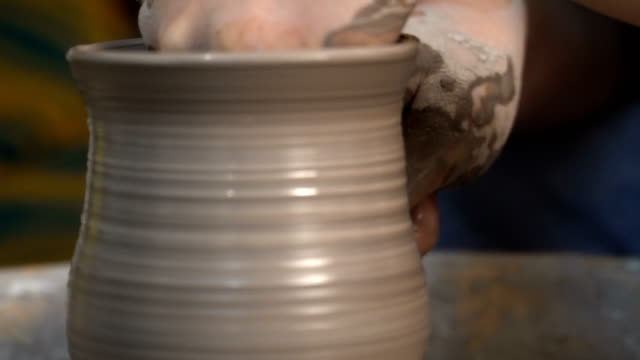 craft - pottery stock videos & royalty-free footage