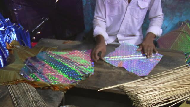 MS Craftsman making kites / Delhi, India