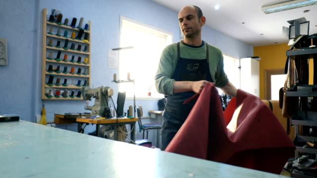 Craftsman work in workshop