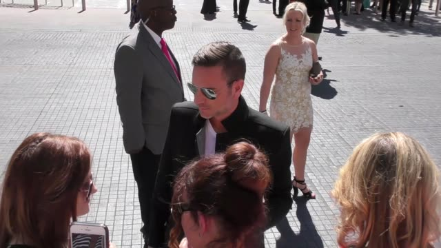 craig campbell arriving to the 52nd academy of country music awards in celebrity sightings in las vegas - academy of country music awards stock videos & royalty-free footage