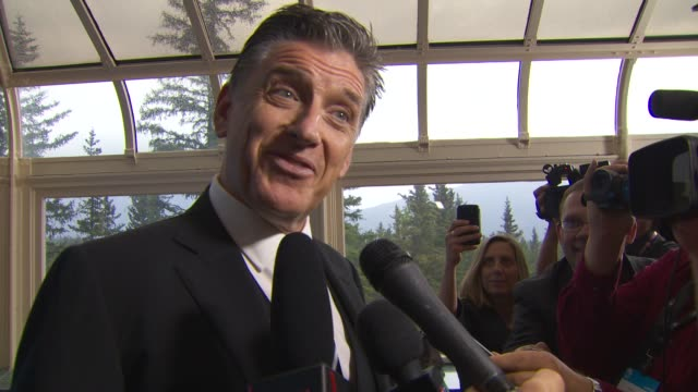 craig ferguson discusses having desmond tutu as a guest on his show - talk show stock videos & royalty-free footage