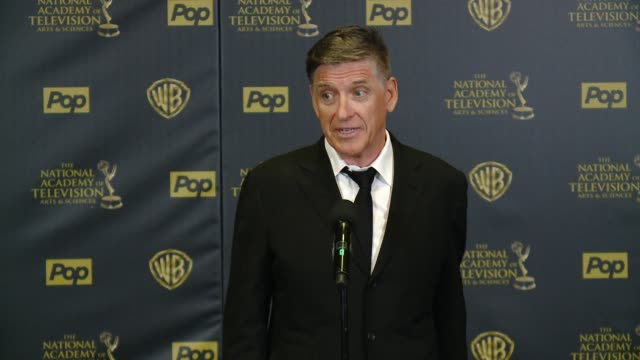 SPEECH Craig Ferguson on winning the award at 42nd Annual Daytime EMMY Awards at Warner Bros Studios on April 26 2015 in Burbank California