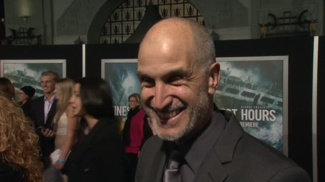 interview craig gillespie on what it means to have his movie premiere at such an iconic theater on if he's excited to see it in imax and on what... - tcl chinese theater stock-videos und b-roll-filmmaterial