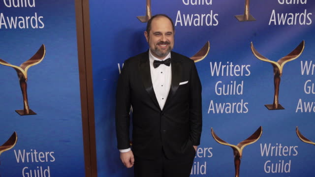 craig mazin at the 2020 writers guild awards at the beverly hilton hotel on february 01, 2020 in beverly hills, california. - the beverly hilton hotel stock videos & royalty-free footage