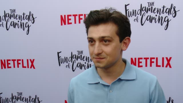vídeos de stock e filmes b-roll de interview craig roberts on beating out 250 actors for the role what it was like working with paul rudd and selena gomez how the film tells a dramatic... - arclight cinemas hollywood