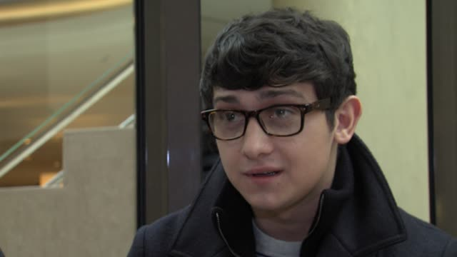 craig roberts on being a screenwriter at comes a bright day interview: 62nd international berlin film festival 2012 at regent hotel on february 14,... - scriptwriter stock videos & royalty-free footage