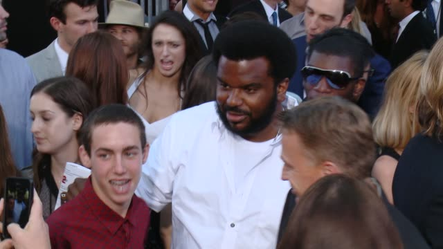 craig robinson at 22 jump street los angeles premiere at regency village theatre on june 10 2014 in westwood california - regency style stock videos and b-roll footage