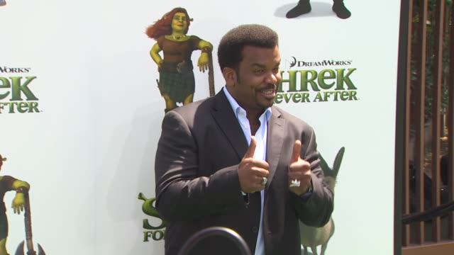 craig robinson at the 'shrek forever after' premiere at universal city ca - universal city video stock e b–roll