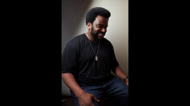 Craig Robinson from the film 'An Evening with Beverly Luff Linn' poses for a gif at the YouTube x Getty Images Portrait Studio at 2018 Sundance Film...