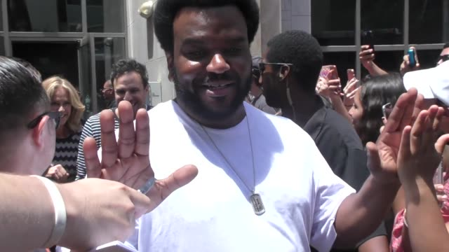 Craig Robinson walking around at San Diego Comic Con in San Diego in Celebrity Sightings in San Diego