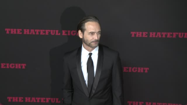 """craig stark at """"the hateful eight"""" world premiere at arclight cinemas on december 07, 2015 in hollywood, california. - arclight cinemas hollywood stock-videos und b-roll-filmmaterial"""