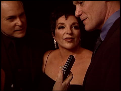 craig zadan at the human rights campaign honors barbra streisand at the century plaza hotel in century city, california on march 6, 2004. - barbra streisand stock videos & royalty-free footage