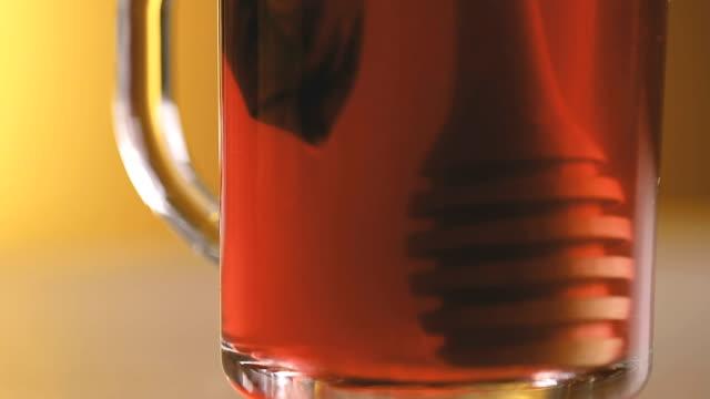 Cranberry Tee und Honig
