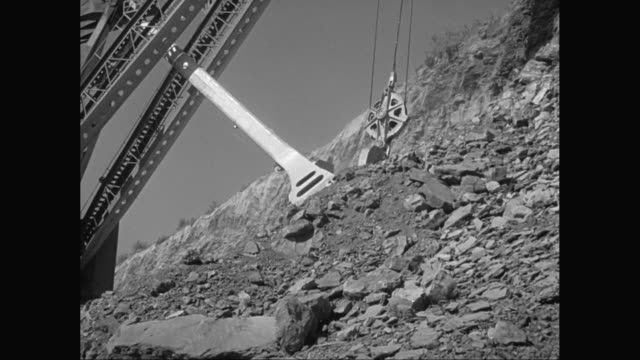 ms ts crane loading construction material / united states - construction material stock videos and b-roll footage
