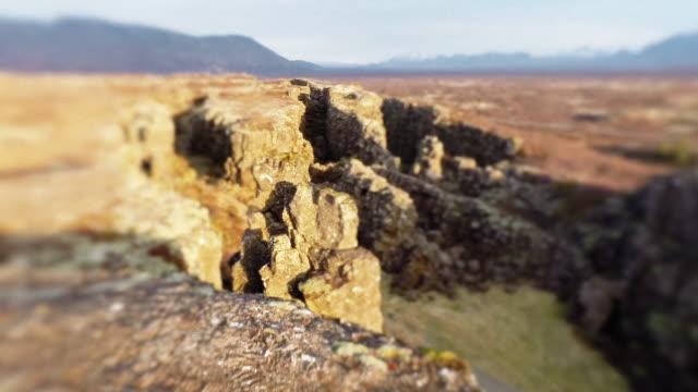 crane shot of dramatic landscape - rough stock-videos und b-roll-filmmaterial