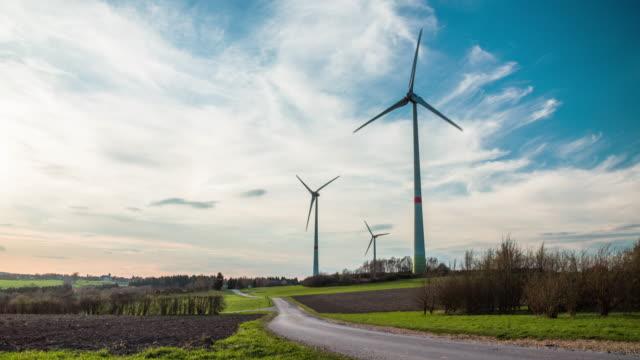 Kran-Shot : Windturbinen