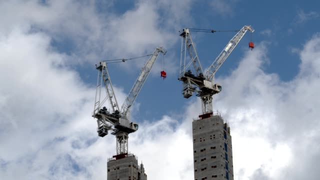 cranes - prosperity stock videos & royalty-free footage