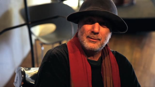 crane.tv visits industrial designer and architect ron arad in his studio in camden. here, he tells us why he walked, literally, away from a job early... - industrial designer stock videos & royalty-free footage