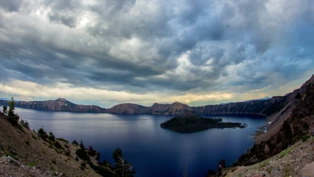 クレーターレイククラウディオレゴン - オレゴン州クレーター湖点の映像素材/bロール
