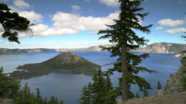 T/L, WS, PAN, Crater Lake, Crater Lake National Park, Oregon, USA