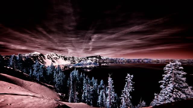 crater lake oregon - crater lake oregon stock videos & royalty-free footage