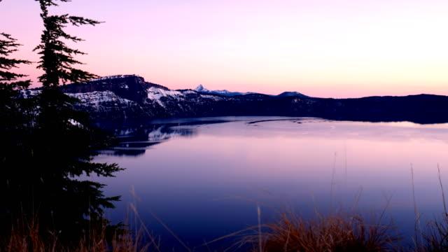 crater lake, oregon - crater lake oregon stock videos & royalty-free footage