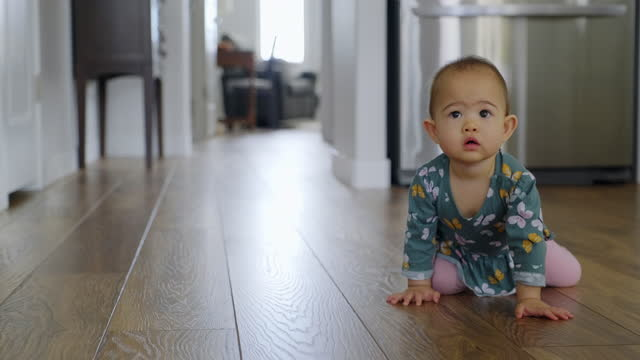 crawling baby - babies only stock videos & royalty-free footage