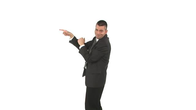 stockvideo's en b-roll-footage met hd: crazy businessman - overhemd en stropdas