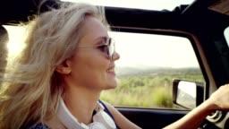 Crazy ride in a SUV