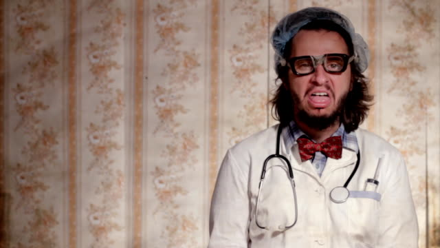 crazy scientist - nerd stock videos & royalty-free footage