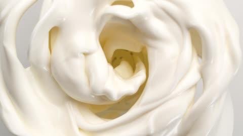 creamy milk swirling in blender. super slow motion - swirl stock videos & royalty-free footage