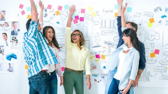 Creatieve office - teamwork concepten