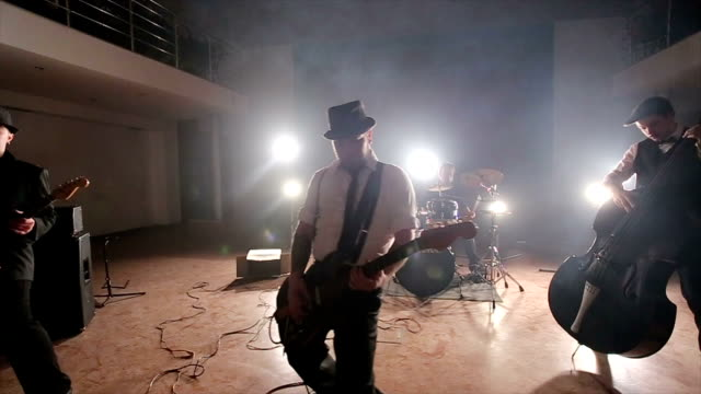 creative retro rock concert - punk music stock videos and b-roll footage