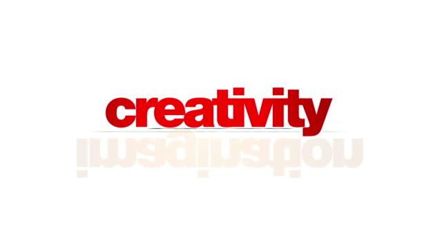 Creativity concepts animation