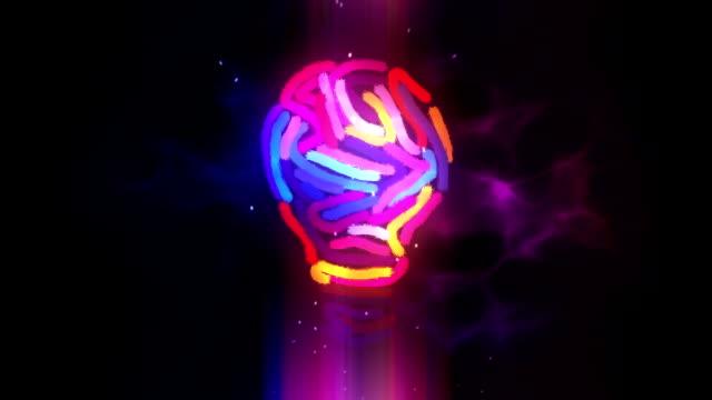 Creativity light bulb