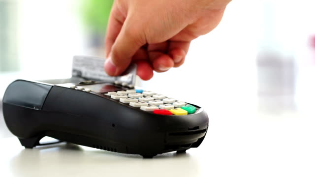 credit card payment, buy, sell & shopping products & service - credit card stock videos and b-roll footage