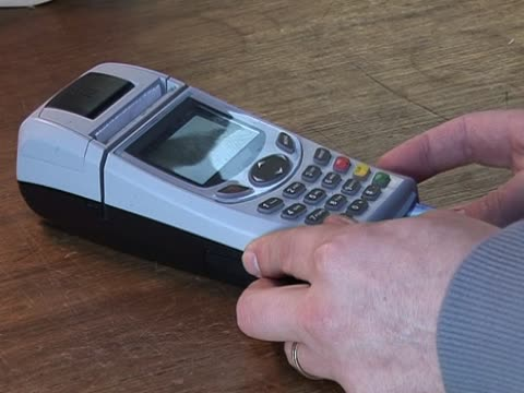 Credit Card Terminal Machine - Pin Number PAL