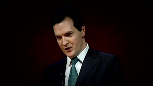 credit ratings agency moody's has downgraded the uk's credit rating; lib / tx england: london: british museum: int graphicised george osborne mp... - british museum stock videos & royalty-free footage