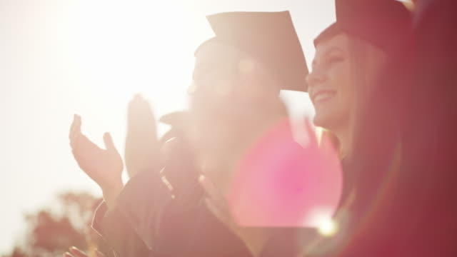 credit where credit is due - graduation stock videos & royalty-free footage