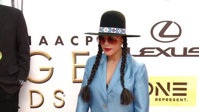 cree summer at 47th annual naacp image awards at pasadena civic auditorium on february 05 2016 in pasadena california - pasadena civic auditorium stock-videos und b-roll-filmmaterial