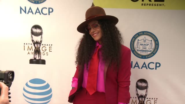 Cree Summer at 48th NAACP Image Awards at Pasadena Civic Auditorium on February 11 2017 in Pasadena California